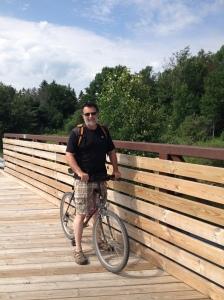 Bill on bridge
